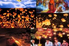 Myanmar Waso Festival or Lenten Season