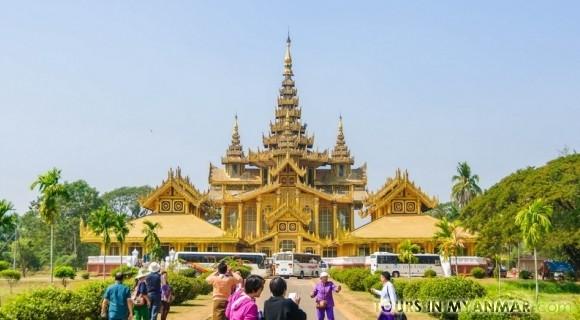 Kanbawza Thardi Palace in Yangon