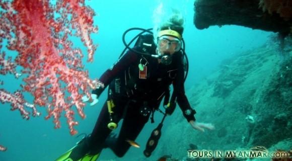 Ngapali Scuba Diving
