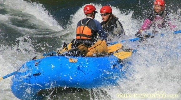 Rafting in Putao