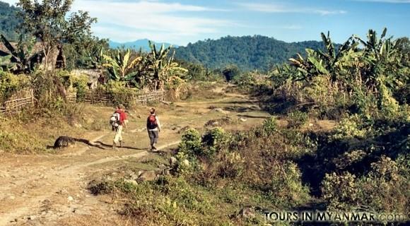 Upper Sangaung village in Putao