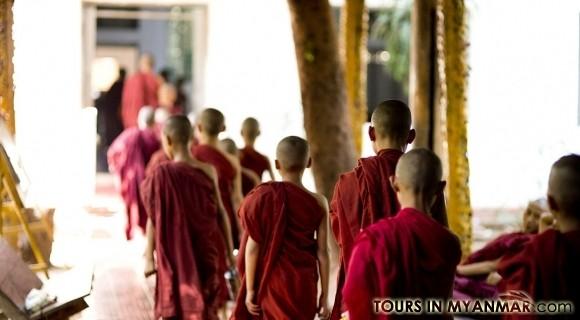 Kalaywa Tawya monastery in Yangon
