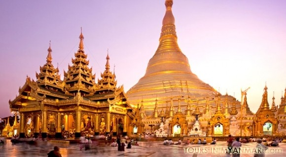 Shwedagon in Yangon