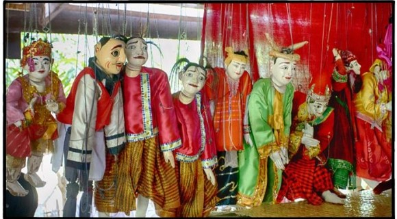 Puppet Show in Bagan