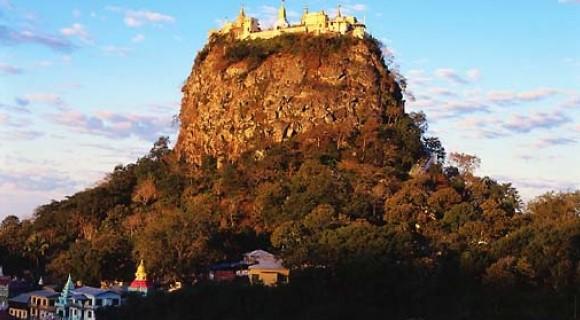 Mount Popa in Bagan