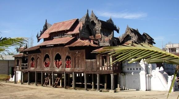 Shwe Yan Pyay Monastery in Inle Lake