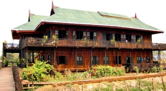 Inthar Heritage House in Inle