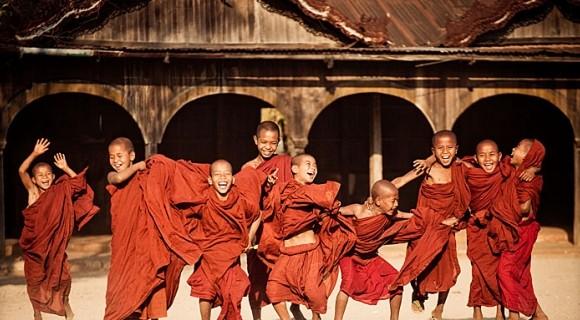 Nga Phe Kyaung Monastery in Inle Lake