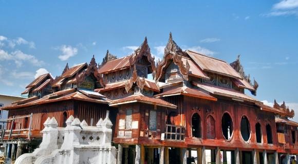 Shwe Yan Pyay Monsastery in Nyaung Shwe