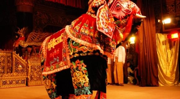 Elephant Dance Festival in Kyaukse