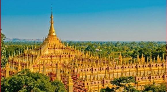 Thanboddhay Pagoda in Monywa