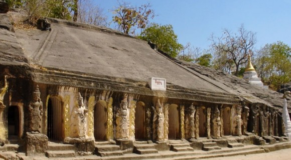 Phowintaung Cave in Monywa