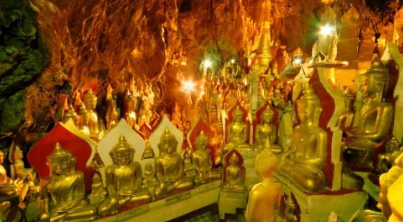 Pindaya Caves in Pindaya