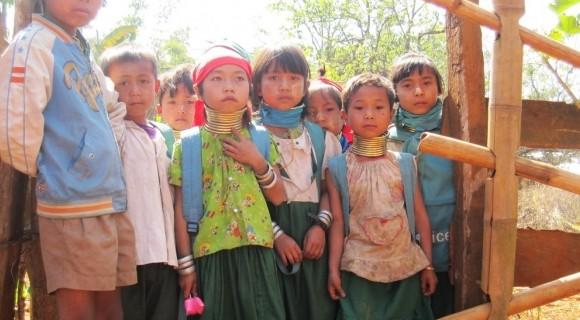 Children in Putao