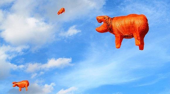 Hot-air Balloon Festival in Taunggyi