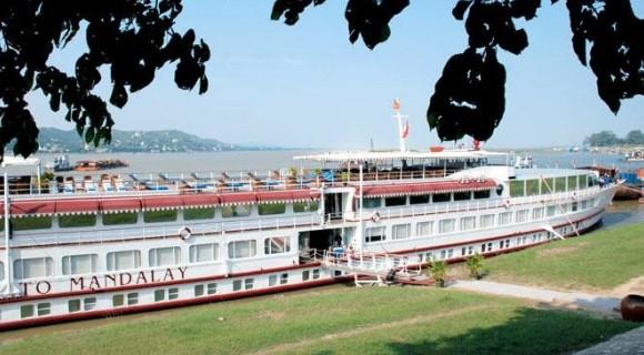 Road To Mandalay Cruise along Irrawaddy River