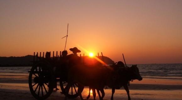 Jewel Beach of Myanmar