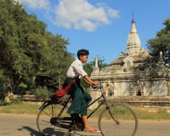 Mysterious Yangon and Bagan on cycle