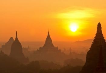 A Panoramic View of Bagan