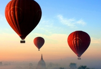 Balloon View Majestic Inle and Bagan
