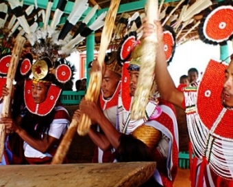 Naga Traditional New Year Festival, 12 Jan 2017
