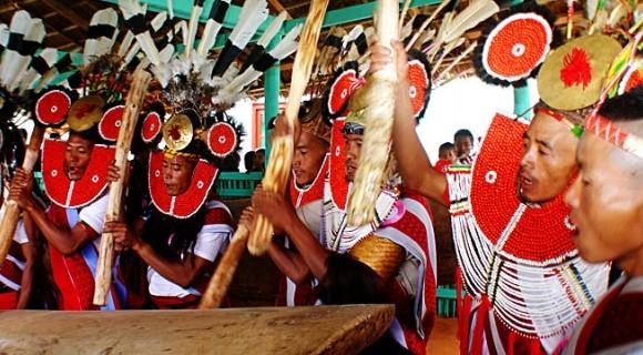 Naga Traditional New Year Festival, 12 Jan 2017